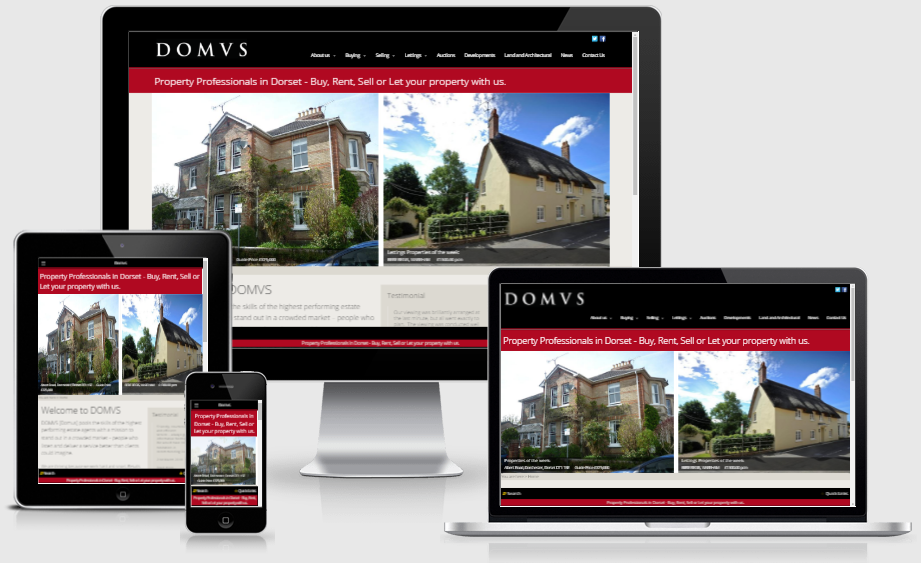 DOMVS - leading estate agency website from Alacrify