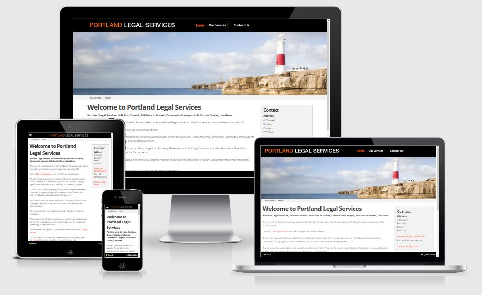 Portland Legal Services | Reponsive Website Design and SEO for Solicitors