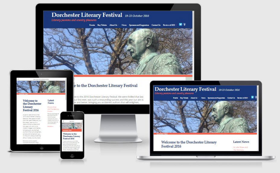 Dorchester Literary Festival - Twitter Campaign Management and Marketing